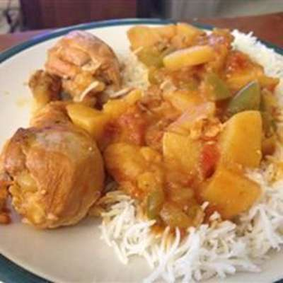 Jenny's Cuban-Style Slow-Cooker Chicken Fricassee - RecipeNode.com