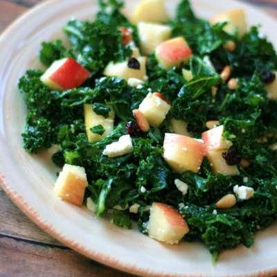 Kale and Feta Salad - RecipeNode.com