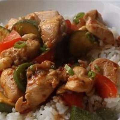 Kung Wow Chicken - RecipeNode.com