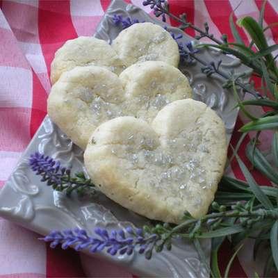 Lavender Shortbread Cookies - RecipeNode.com