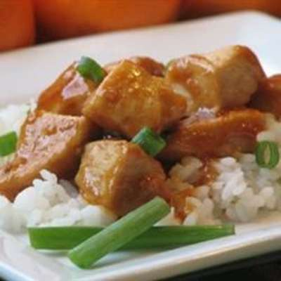 Mama's Asian Chicken and Rice - RecipeNode.com
