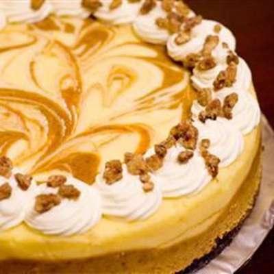 Marbled Pumpkin Cheesecake - RecipeNode.com