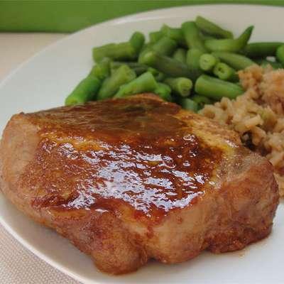 Marinated Baked Pork Chops - RecipeNode.com