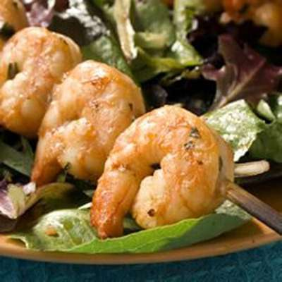 Marinated Grilled Shrimp - RecipeNode.com