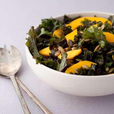 Massaged Kale Salad - RecipeNode.com