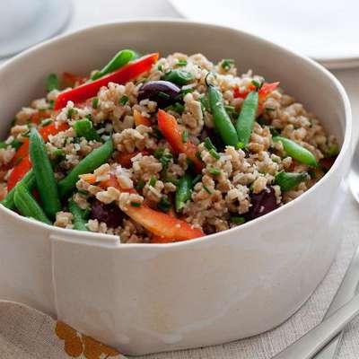 Mediterranean Farro Salad - RecipeNode.com