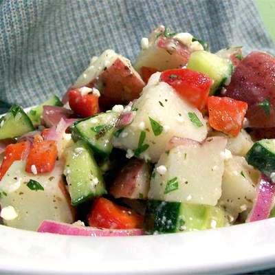 Mediterranean Potato Salad - RecipeNode.com