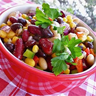 Mexican Bean Salad - RecipeNode.com