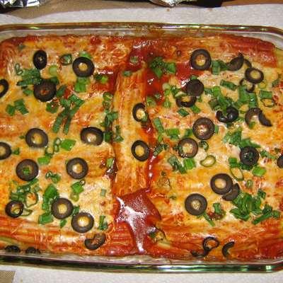 Mexican Manicotti - RecipeNode.com
