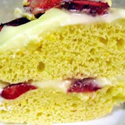 Mock Lemon Chiffon Cake - RecipeNode.com
