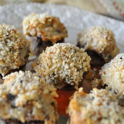 Mouth-Watering Stuffed Mushrooms - RecipeNode.com