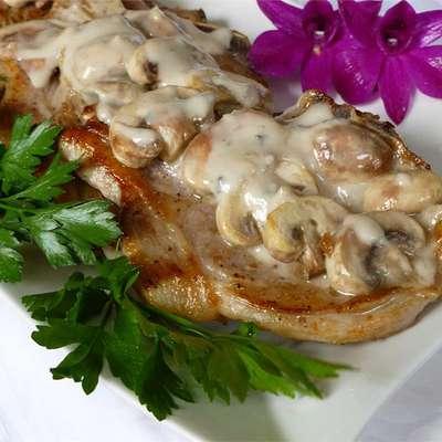Mushroom Pork Chops - RecipeNode.com