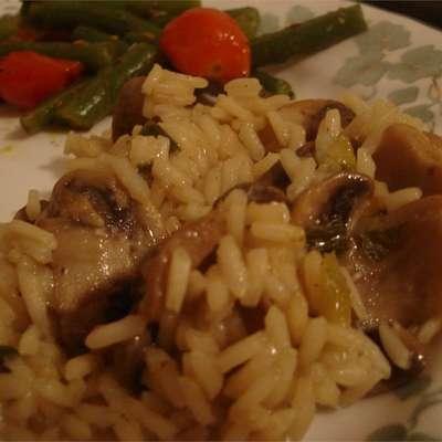 Mushroom Rice - RecipeNode.com