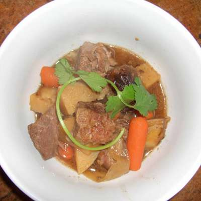 Niku Jaga (Japanese Beef Stew in the Crock Pot) - RecipeNode.com