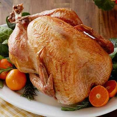 No-Baste, No-Bother Roasted Turkey - RecipeNode.com