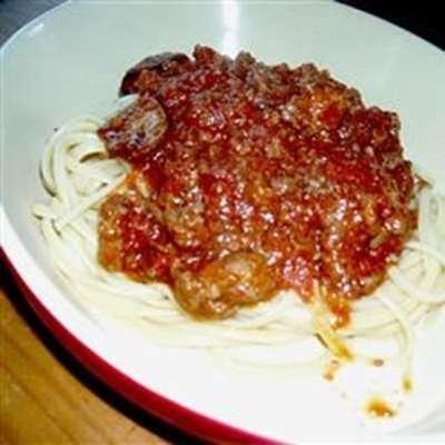 Old Italian Meat Sauce - RecipeNode.com
