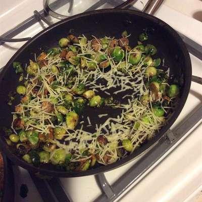 Parmesan Brussels Sprouts - RecipeNode.com