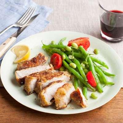 Parmesan-Crusted Pork Chops - RecipeNode.com