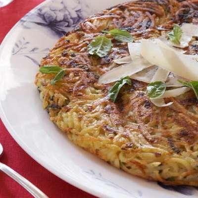 Parmesan Potato Pancake - RecipeNode.com