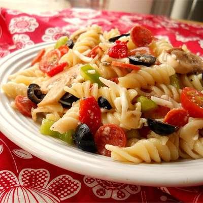 Pizza Salad II - RecipeNode.com