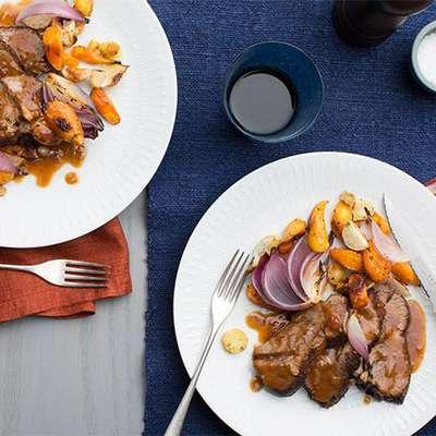 Pot Roast with Roasted Vegetables - RecipeNode.com