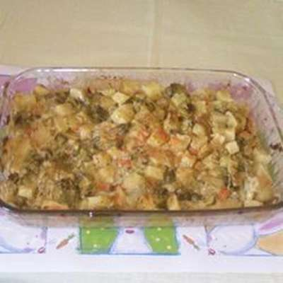 Potato and Cauliflower Casserole - RecipeNode.com