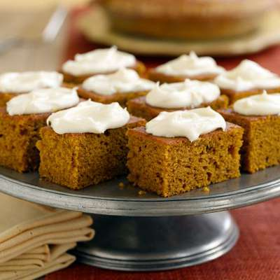 Pumpkin Bars - RecipeNode.com