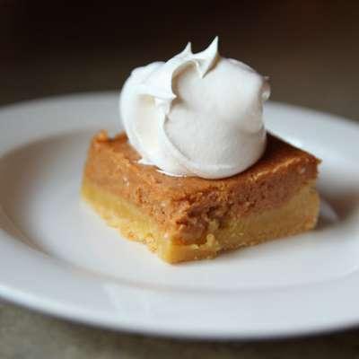 Pumpkin Gooey Butter Cake  (Paula Deen) - RecipeNode.com
