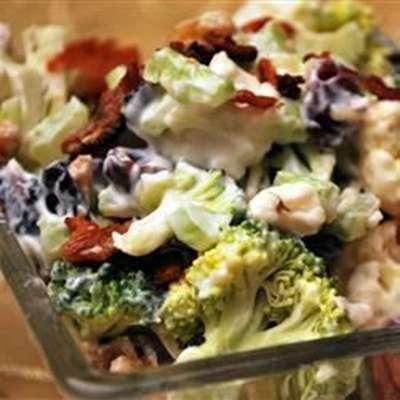 Raw Vegetable Salad - RecipeNode.com