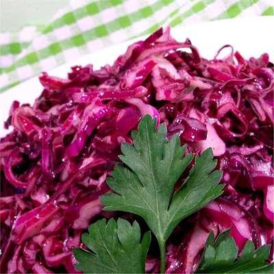 Red Cabbage Salad II - RecipeNode.com