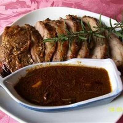Roast Leg of Lamb with Rosemary - RecipeNode.com