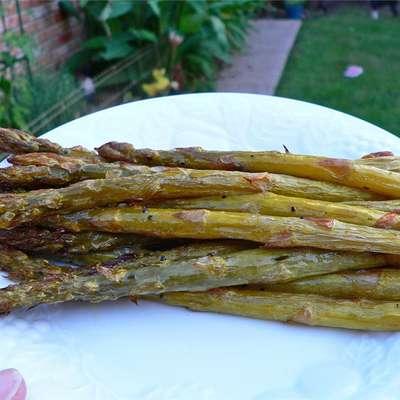 Roasted Asparagus with Shallots - RecipeNode.com