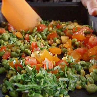 Roasted Edamame Salad - RecipeNode.com