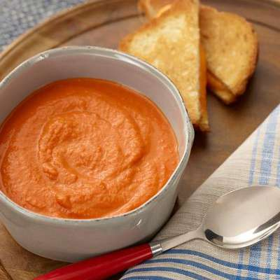 Roasted Tomato Bisque - RecipeNode.com