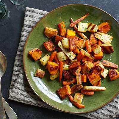 Roasted Winter Vegetables - RecipeNode.com