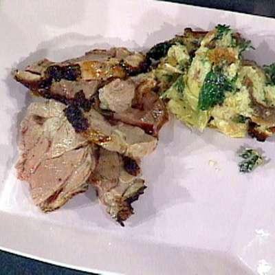Rosemary and Garlic Roast Leg of Lamb - RecipeNode.com