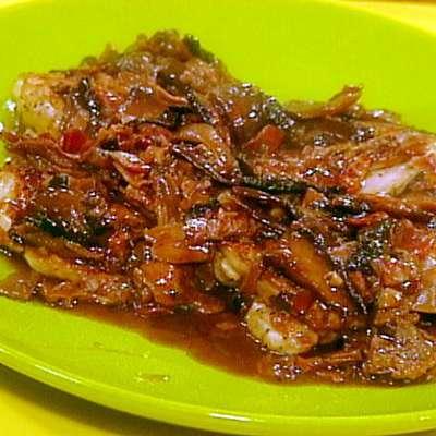 Rosemary Grilled Chicken Thighs and Wild Mushroom Sauce - RecipeNode.com