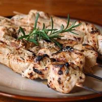 Rosemary Ranch Chicken Kabobs - RecipeNode.com