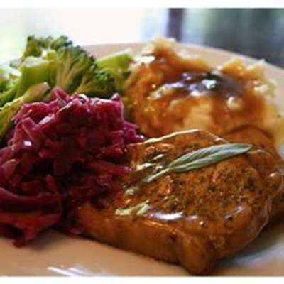 Sage Pork Chops - RecipeNode.com
