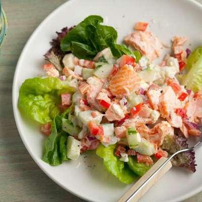 Salmon Salad - RecipeNode.com