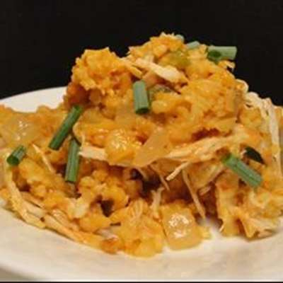 Salsa Chicken Rice Casserole - RecipeNode.com