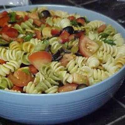 Salsa Pasta Salad - RecipeNode.com