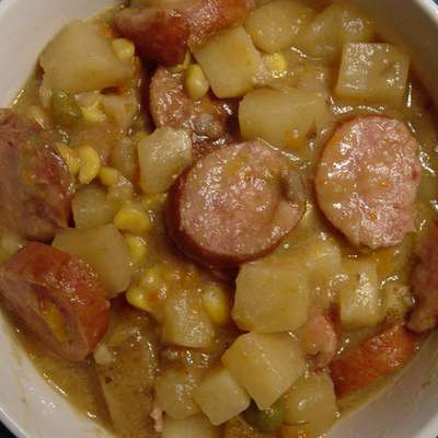 Sausage Potato Bake - RecipeNode.com
