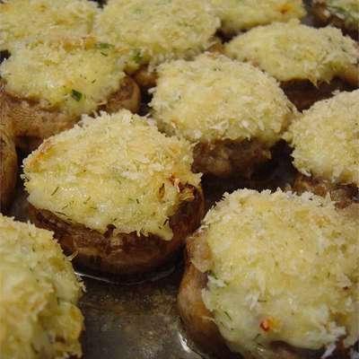 Savory Crab Stuffed Mushrooms - RecipeNode.com