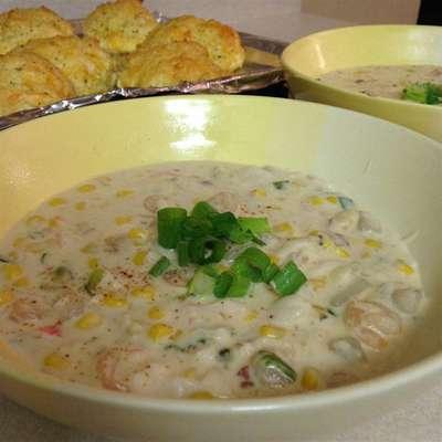 Seafood Chowder - RecipeNode.com