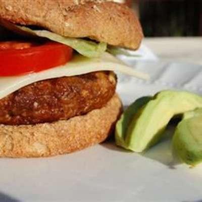 Seasoned Turkey Burgers - RecipeNode.com