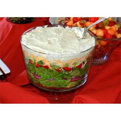 Seven Layer Salad - RecipeNode.com