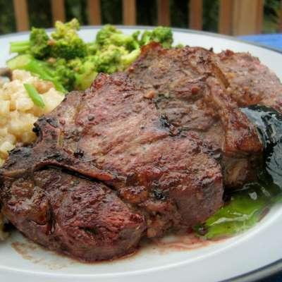 Sheila's Peppered Lamb Chops - RecipeNode.com