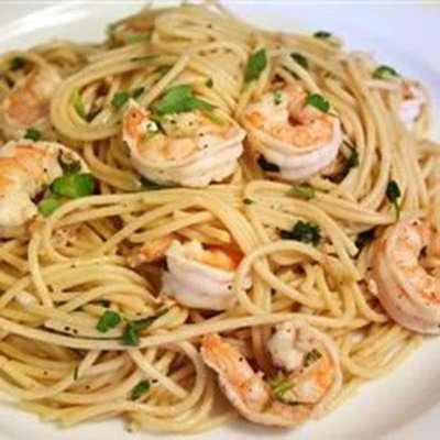 Shrimp Lemon Pepper Linguini - RecipeNode.com