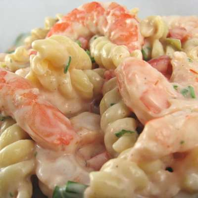 Shrimp Louis Pasta Salad - RecipeNode.com
